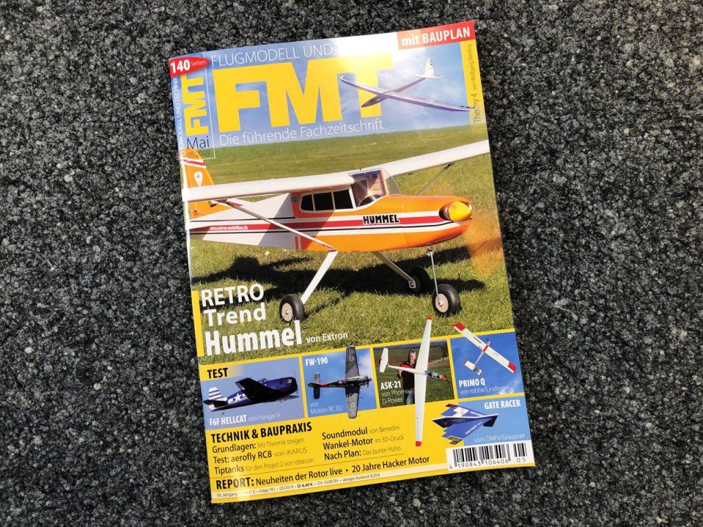 Großer Testbericht Extron Hummel - EXTRON Modellbau