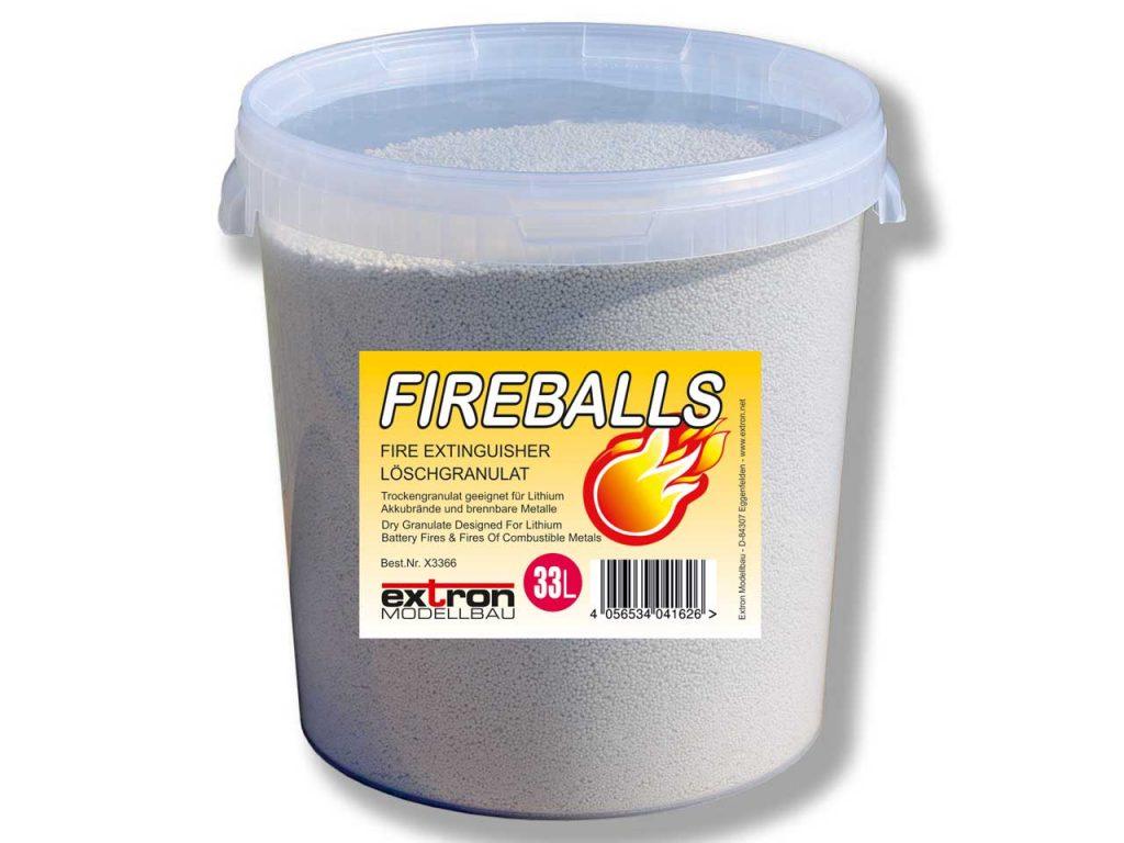 NEU Fireballs Granulat im 33L Eimer